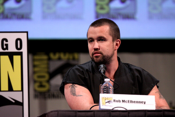 Rob McElhenney at the 2011 San Diego Comic-Con InternationalRob Mcelhenney Law And Order