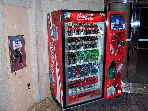 touch screen coke machine price