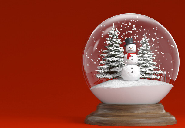 A new spin on creating personalized snow globes for Easy homemade christmas snow globes