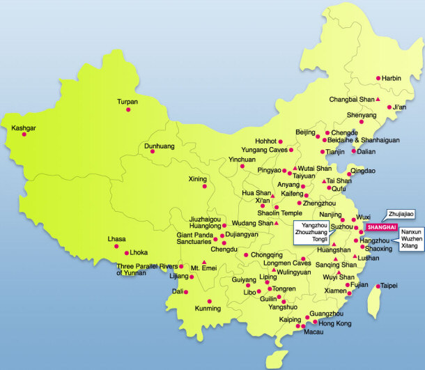 Top 15 Things You Didn't Know about Chinese Culture China Potion Map on