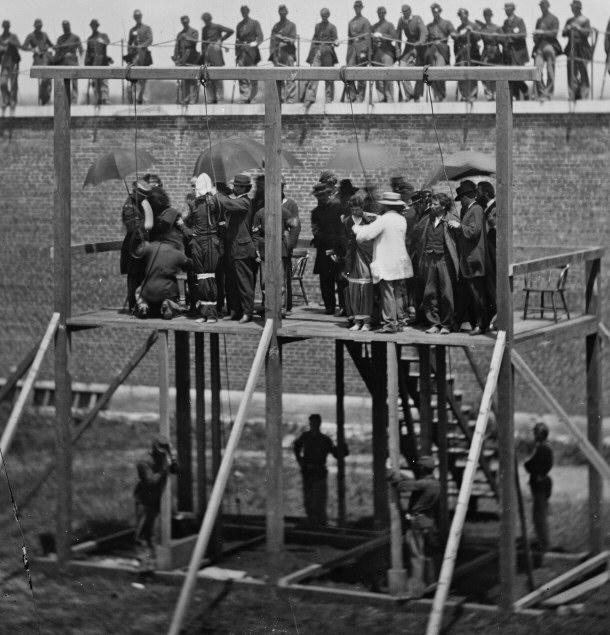 Mary Surratt's Place of Execution: