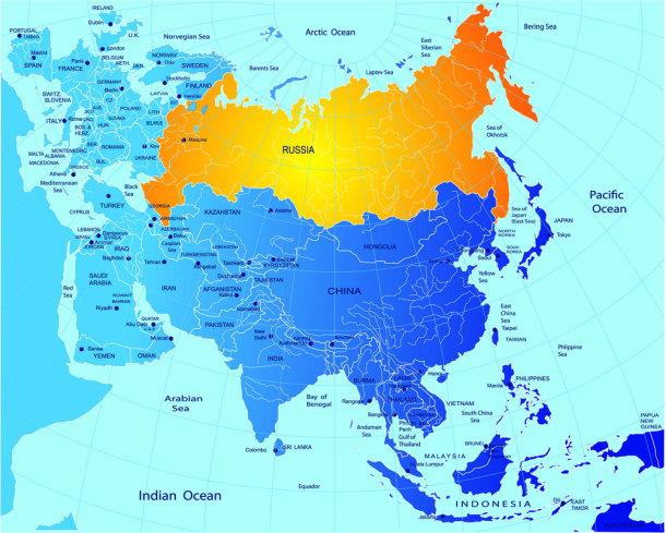 Tsarist Russia Map.The Fall Of Tsarist Russia
