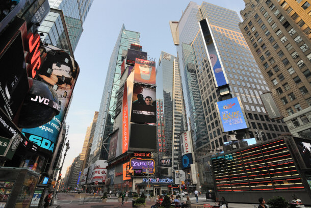 Top 5 things to do in new york city for Things to do at times square