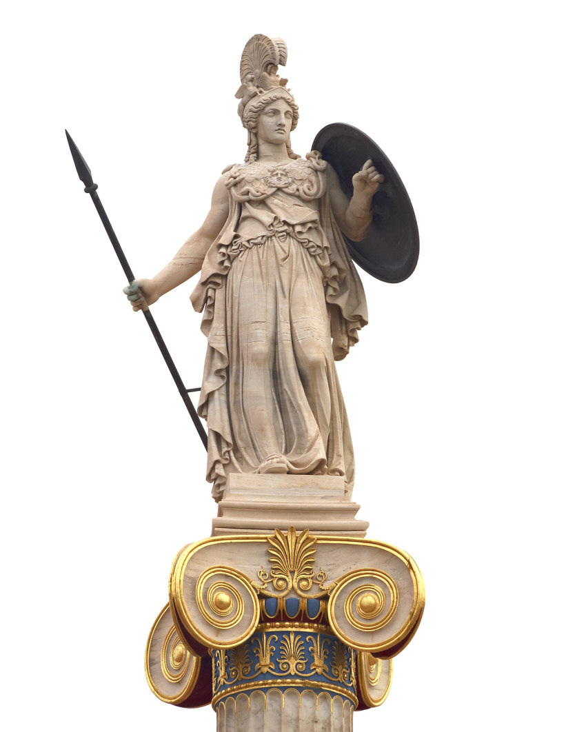 goddess athena Athena is most vividly symbolized by the snake the snake symbolizes protection, rebirth the statue of the goddess standing by her snake would be a powerful message of protective strength and hope.