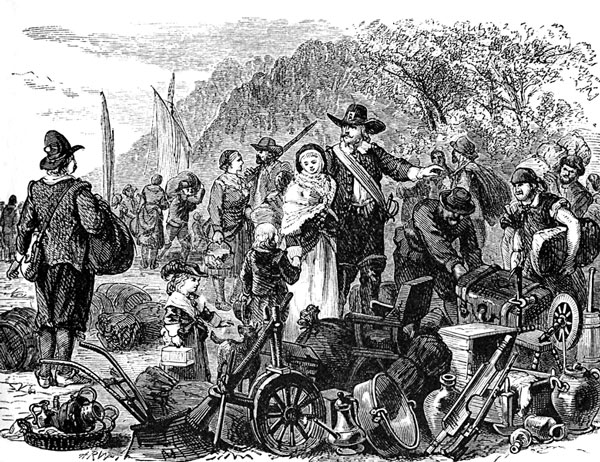 an economic views of slavery of the english settlers in the late 17th century Slavery in the spanish american colonies was an economic and social institution central to the operations of the spanish  slavery in the spanish new world colonies.