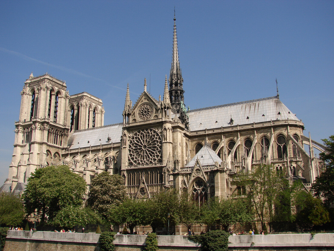 Top 15 interesting places to visit in paris for Exterior notre dame