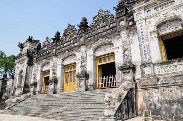 Tomb Hue Monuments Vietnam