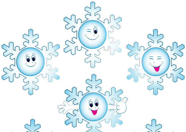 Картинки открытка, картинка снежинки смешная